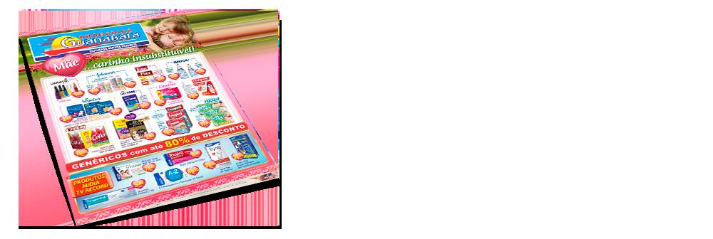 """<h1><font color=""""#334380"""">Encarte Guanabara</font></h1> <p>Encarte de Maio a Abril - Mês das Mães<br/> Aproveite as ofertas do nosso encarte para você.</p> <a href='http://www.youblisher.com/p/1122466-Encarte-Drogarias-Guanabara/' target=""""_blank""""><img src=""""http://www.drogariasguanabara.com.br/site/wp-content/uploads/2013/07/saibamais.png""""></a>"""